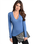 Women's V-Neck Knitted Long sleeve Sweater Top