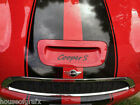Mini Cooper Clubman S Script Hood Scoop Decal Decals Graphic Vinyl Sticker