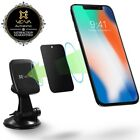 SuctionCup Magnetic Car Mount Phone Holder 360 Rotate iPhone 11 Pro XS XR Galaxy
