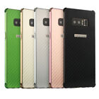 Fashion Carbon Fiber Plating PC Protective Back Case For Samsung Galaxy Note8