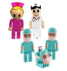 4GB Doctor Model USB 2.0 Flash Memory Stick Flash Drive 100% Capacity Guaranty