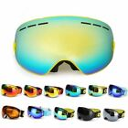 2017 New Arrival Spherical Dual-layer Lens Snowboard Goggles UV400 Anti-fog Skii