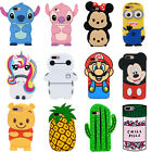 Cartoon Unicorn Despicable Me Soft Silicone Back Case Cover For iPhone 7 8 Plus