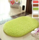 Living Room Home Decoration Door Mat Square Oval Wool Anti-Skid Carpet Paded