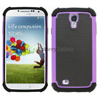 NEW LOT Hybrid Rubber Hard Case for Andoid Phone Samsung Galaxy S4 200+SOLD