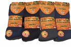 12 Pairs of Mens Non Elastic Thermal Diabetic Socks Thick Warm. Size 6-11 UK