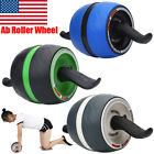 3Colors Abs Carver Wheel Abdominal Exercise Roller Knee Matt Workout Fitness Gym image