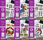 NEW Crafters Companion Circus Collection A6 Stamps