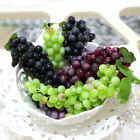 22~85pcs Bunch Lifelike Artificial Grapes Plastic Fake Fruit Food Home Decor