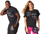 Zumba ~ DON'T FORGET TO DANCE GRAPHIC TEE - Unisex - ALL SIZES! Black ~Free Ship