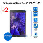 2PC Tempered Glass for Samsung Galaxy Tab A T Table Screen Protector Film Guard