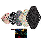 Внешний вид - XS S M L XL Cloth Menstrual Pad Mama Cloth Sanitary Bamboo Charcoal Bag Reusable