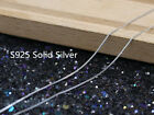 Genuine S925 Sterling Silver 40-45cm Necklace Christmas Gift