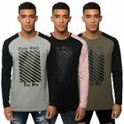 Loyalty & Faith Mens Long Sleeve T-Shirt Crew Neck Graphic Text Print Tee Top