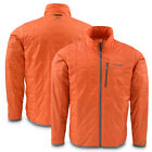 Simms Fall Run Mens Jacket Fishing & Upland Hunting Orange Primaloft Insulation