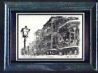 FRENCH QUARTER LACE GALLERY CARD FRAMED- D DAVEY