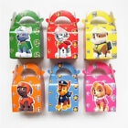 6-24X Paw Patrol Boys Girl Party Lunch Boxes Kids Goody Bag Filler Gift Birthday