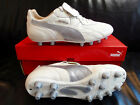 Puma King Top City DI FG/K-Leder/wei�/silber/10369803
