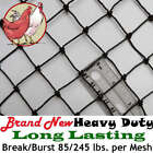 Netting Poultry Plant Bird Aviary Fruit Garden Protection Net Nets Long Lasting!