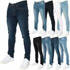 Loyalty & Faith Mens Skinny Stretch Fit Ripped Denim Classic Jeans Trousers
