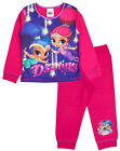 Shimmer and Shine Pyjamas. Ages 18-24 Months to 4-5 Years