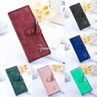 Women Lady & Girl Leather Purse Bag Long Small Umbrella Wallet 8 Colors Hot