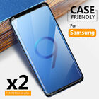 2x Samsung Galaxy S8 S8+ Note 8 Tempered Glass Screen Protector Film Guard