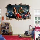 Justice League Movie 3D Smashed Wall Sticker Decal Art Mural DC Comics J970