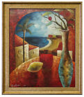 """Oil Painting of Cityscape Abstract in Nice Color 20*24"""""""