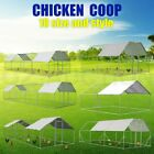 Chicken Coop Rabbit Hutch Ferret Cage Hen House Enclosure Guinea Pig Large Run