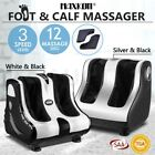 4 Motors 3D Shiatsu Foot Ankle Calf Electric Massager Kneading Rolling Heating