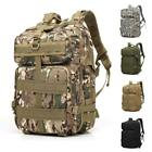 Внешний вид - 45L Molle Outdoor Sports Military Tactical Bag Camping Hiking Trekking Backpack