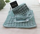 Hand Knit Waffle Stitch Cotton Wash Cloths-Many Colors *Sold Individually*