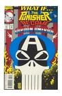 What If...? #51 Punisher becomes Captain America ! VF/NM  Unread BOX1