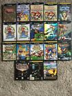Nintendo GameCube Games - Mario Zelda Metroid Sonic Monkey Ball & Many More!