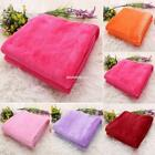 Warm Thick Flannel Sofa Throw Blankets on Bed Home EN24H 01