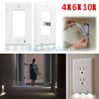 Lot Plug Cover LED Light Sensor Night Light Wall Outlet Face Hallway Guidelight