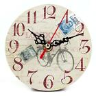 New Elephant Pattern Creative Vintage Style Living Room Bedroom Clock B20E