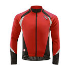 SOBIKE Cycling Thermal Polyester Winter Jacket Coat Jersey Aurora Red