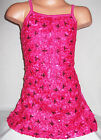 GIRLS BRIGHT PINK EMBROIDERED SEQUIN RIBBON SPECIAL OCCASION DANCE PARTY DRESS