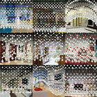 Crystal Specs Bead Curtain Luxury Living Room Bedroom Window Door Bathroom Decor