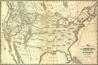 Poster, Many Sizes; Map Proposed N Transcontinental Railroad 1853