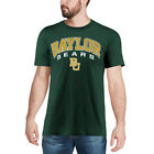 Colosseum Baylor Bears Heathered Forest Green Distressed Arch Over Logo T-Shirt