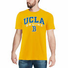 Colosseum UCLA Bruins Heathered Gold Distressed Arch Over Logo T-Shirt