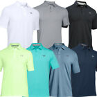 Under Armour Mens Charged Cotton Scramble SS Golf Polo Shirt 39% OFF RRP