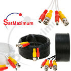 Kyпить Security Camera Cable Video Surveillance + Power Cord CCTV BNC Siamese Wire -LOT на еВаy.соm