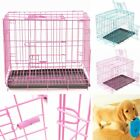 cage for dogs - Pet Kennel Folding Steel Crate Animal Playpen Wire Metal Cage 20'' For  Cat Dog