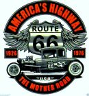 Model A Ford T-Shirt Mens Womens Route 66 The Mother Road