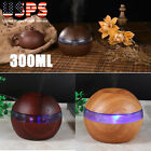 LED USB Mini Aroma Diffuser Air Aromatherapy Purifier Essential Oil Humidifier