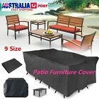 Au 9 Size Waterproof Furniture Cover Outdoor Garden Yard Patio Table Protection